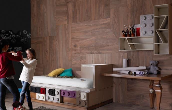 רהיטים בהשראת לגו של החברה הספרדית Lola Glamour