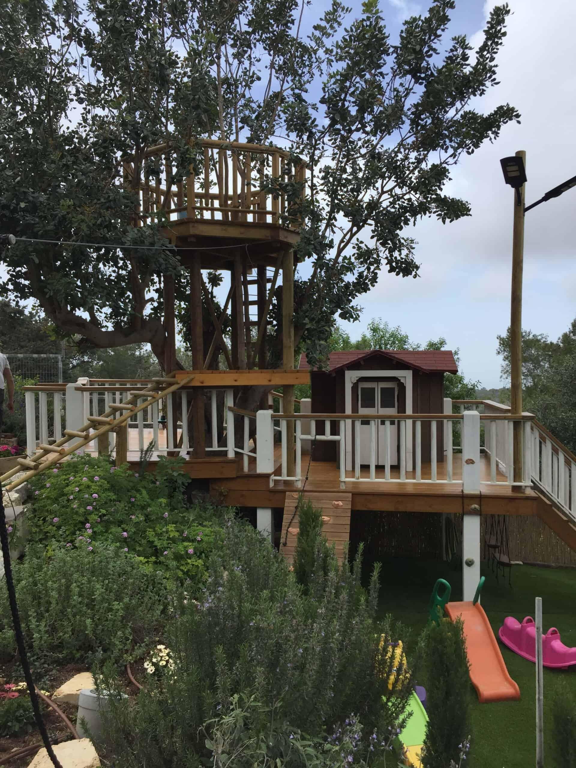 עשה זאת בעצמך - בית מעץ - קרדיט: דולב קלנר - מדרה עבודות עץ