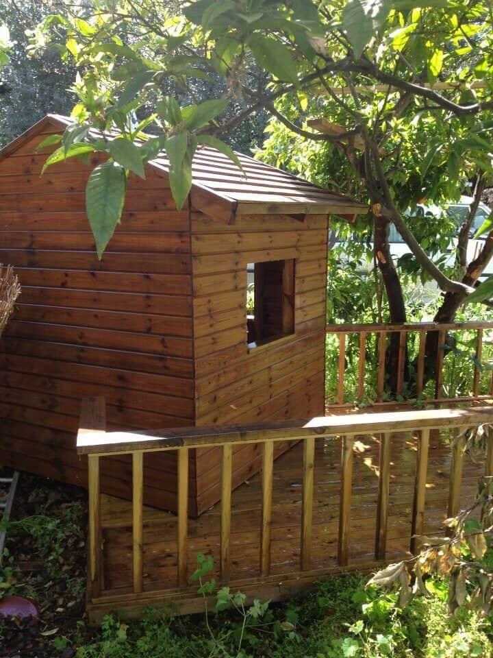 קרדיט: דולב קלנר - מדרה עבודות עץ D.I.Y בית מעץ