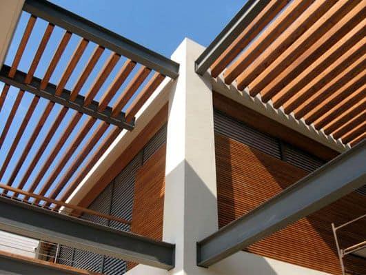 חיפוי קירות מעץ טיק בורמזי