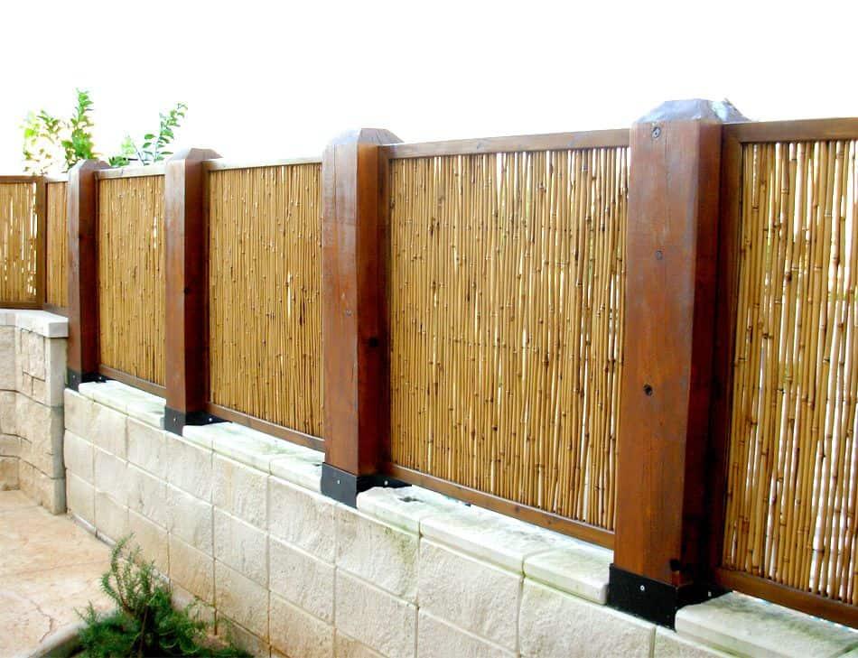 מחצלות בבמבוק בגדר
