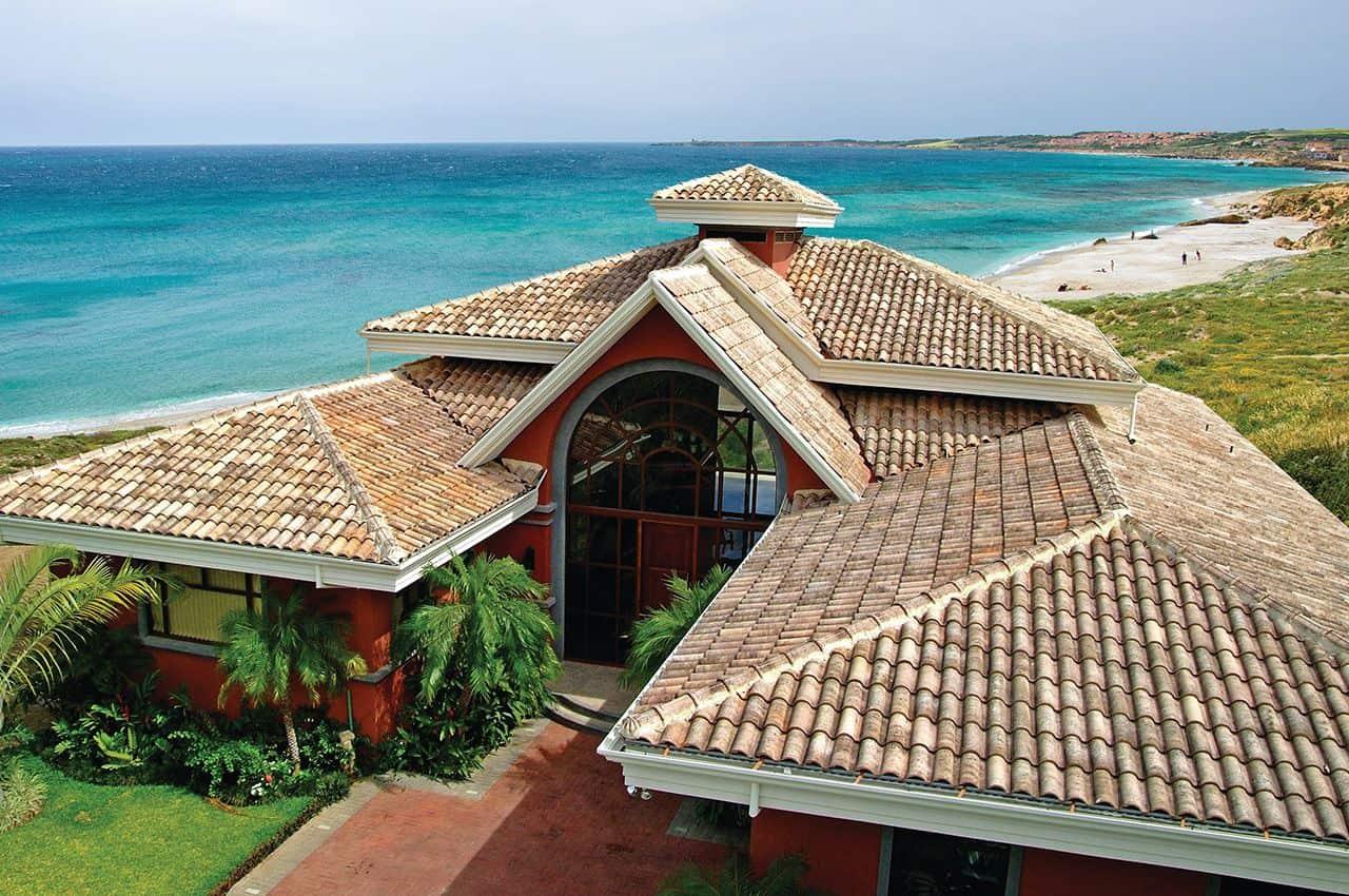גג רעפים בסגנון ים תיכוני - רעף דגם איטאנה AITANA