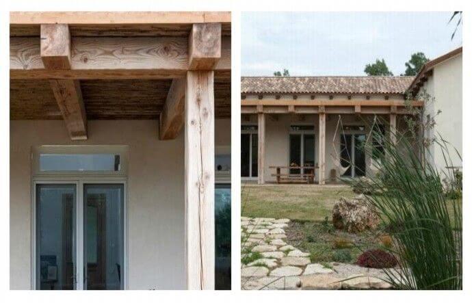 בית משפחת פנקס במכמורת - פרוייקט של עץ ועצה