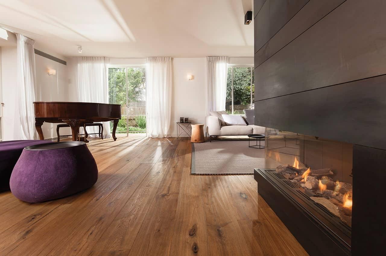 פרקט עץ לסלון