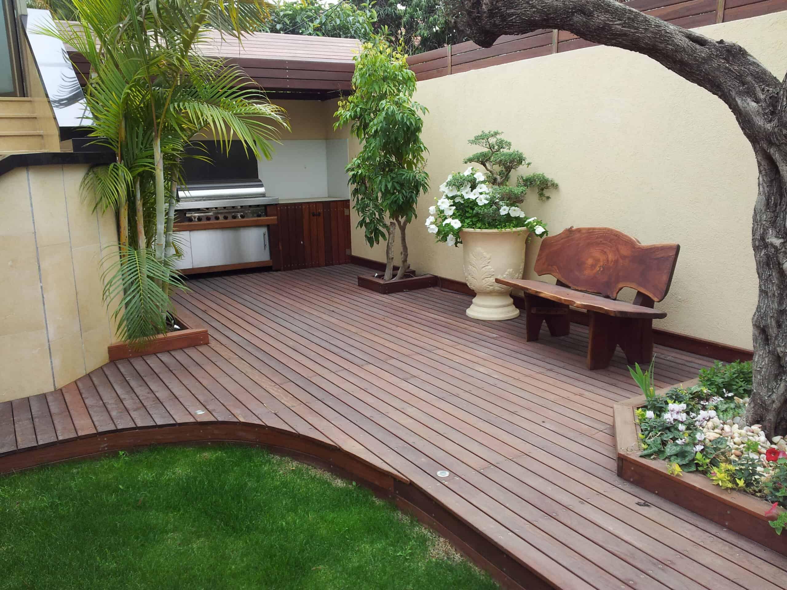 דק מעץ איפאה ברזילאי