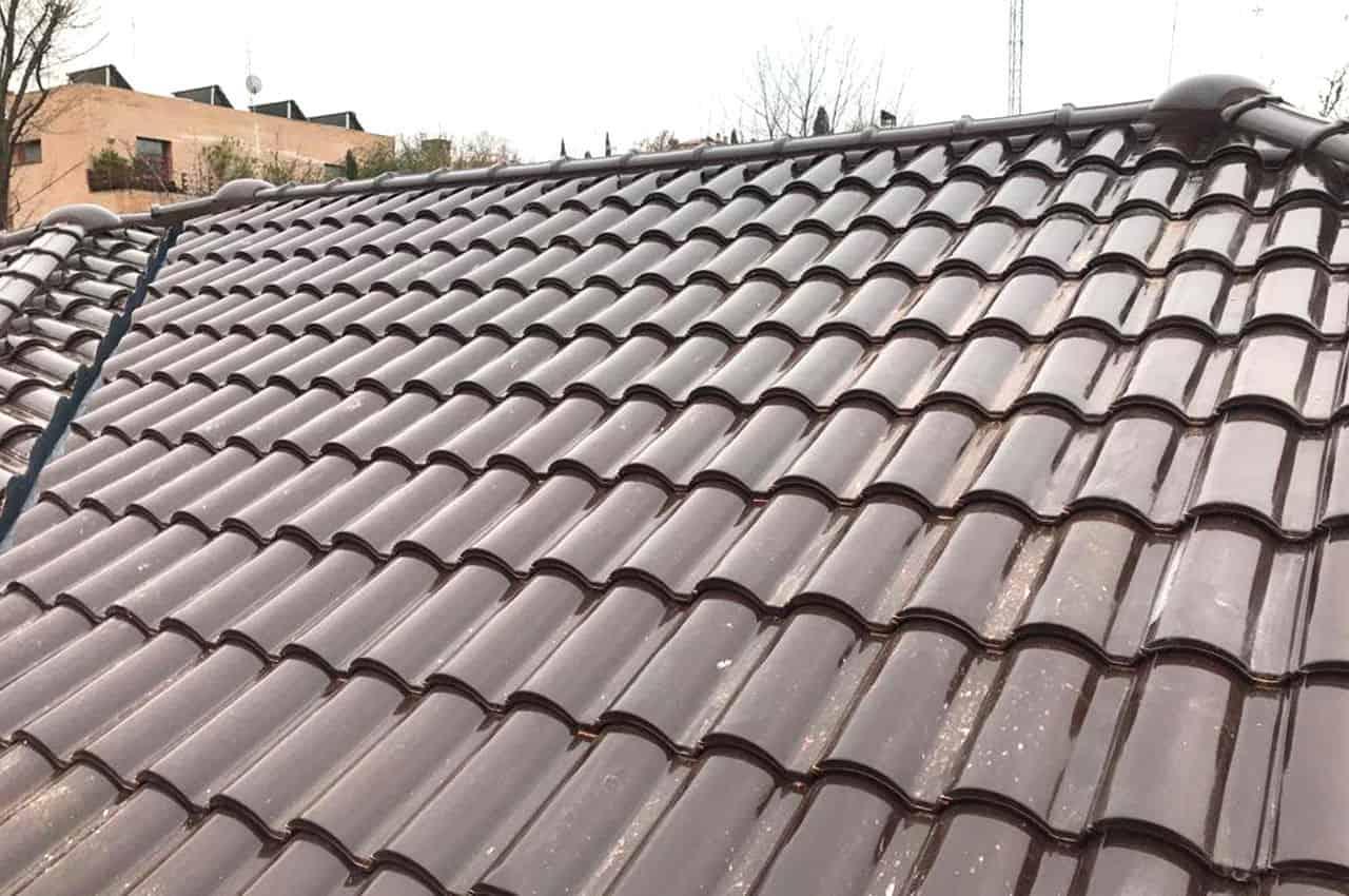 גג רעפים מודרני בעיצוב קלאסי
