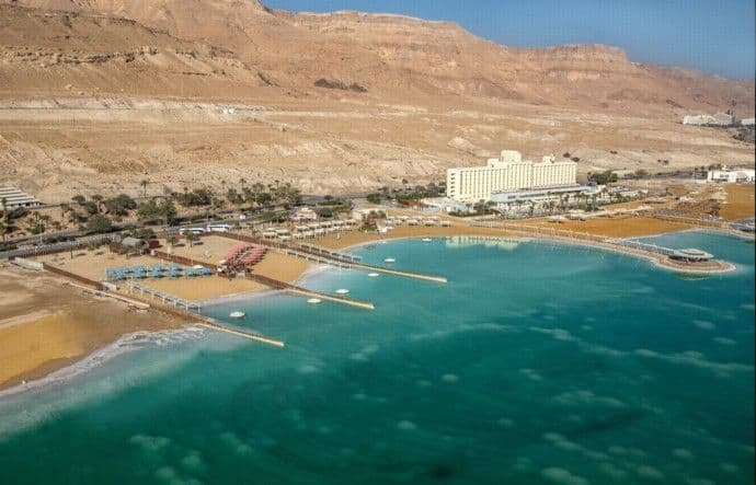 עץ ועצה השתתפה בעבודות הפיתוח לרצועת התיירות החדשה של ים המלח