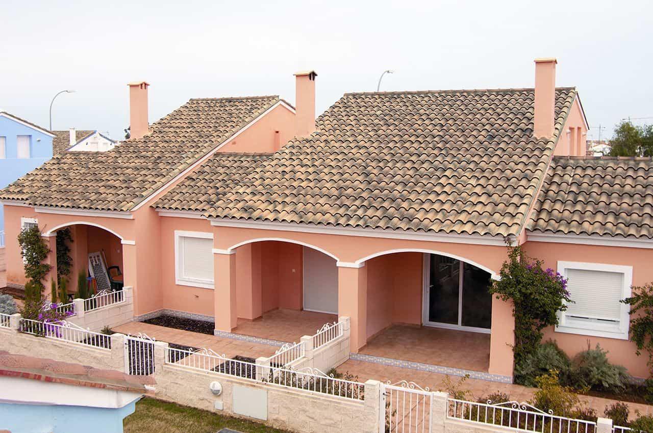 גג רעפים בסגנון כפרי רעף אסקנדלה פורטוגז