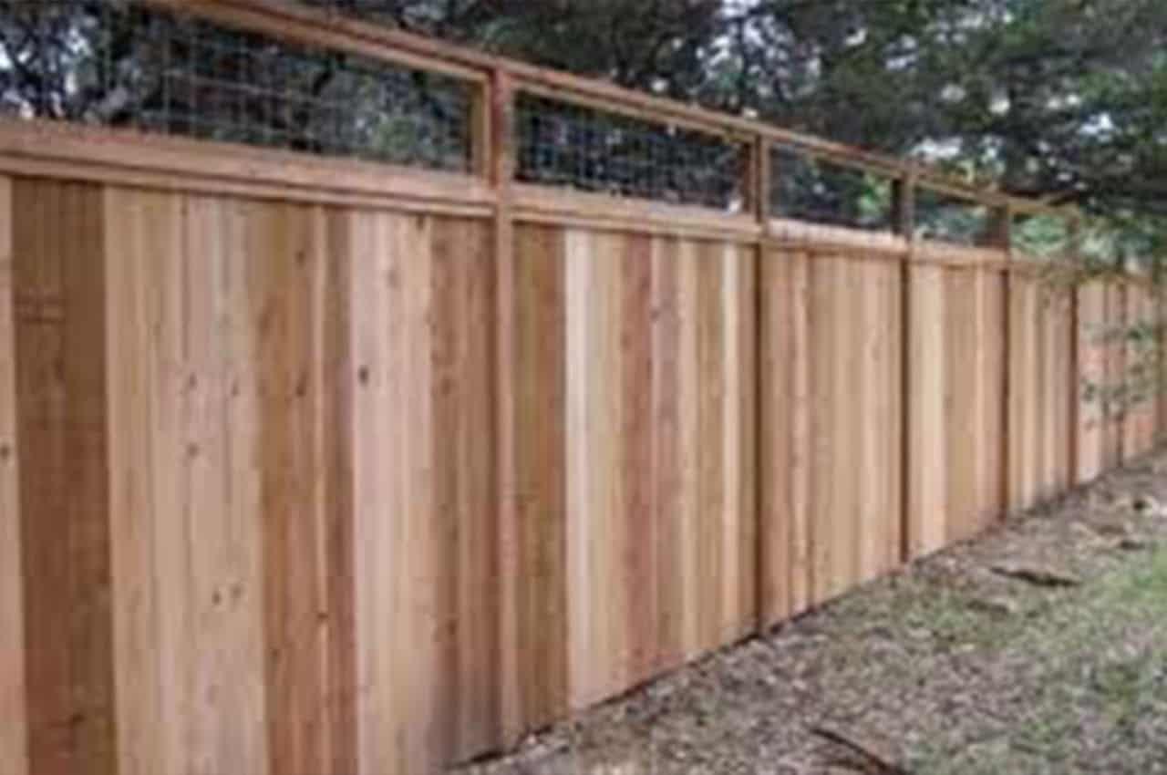 גדר מעץ אורן עמיד ואיכותי